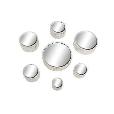 Round Silver Mirrors (Set of 7) - eBay