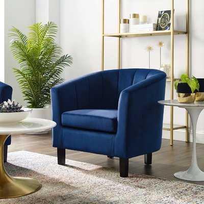 Wilbur Channel Armchair - Wayfair
