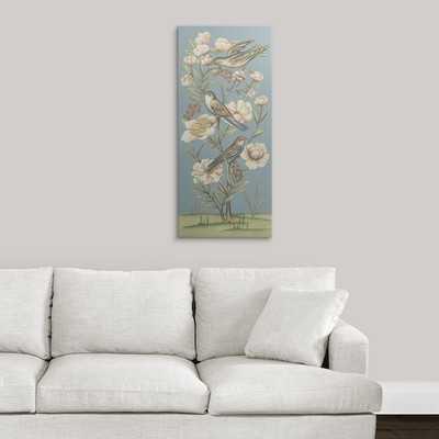 'Pastel Chinoiserie II' Chariklia Zarris Graphic Art Print - Wayfair