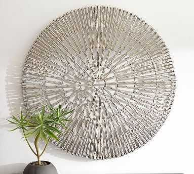 Woven Wheel Wall Art - Pottery Barn