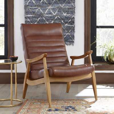Hans Leather Armchair - Wayfair