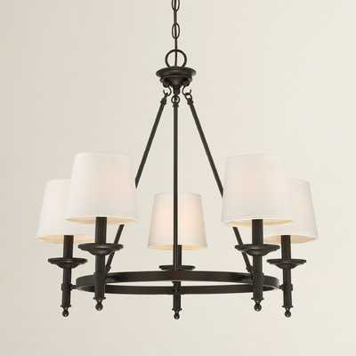 Glastonbury 5-Light Shaded Chandelier - Wayfair
