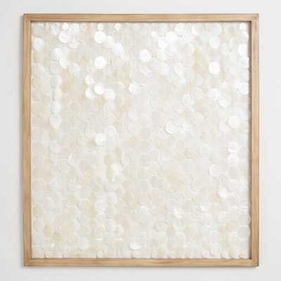 Capiz Shell Framed Wall Art by World Market - World Market/Cost Plus