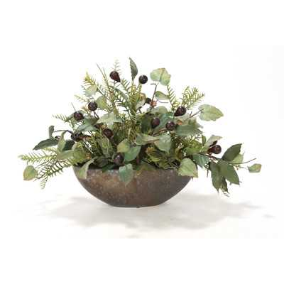 Mixed Centerpiece in Bowl - Birch Lane