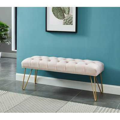 Logan Upholstered Bench - Wayfair