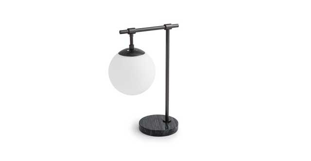 Pendula Gunmetal Table Lamp - Article