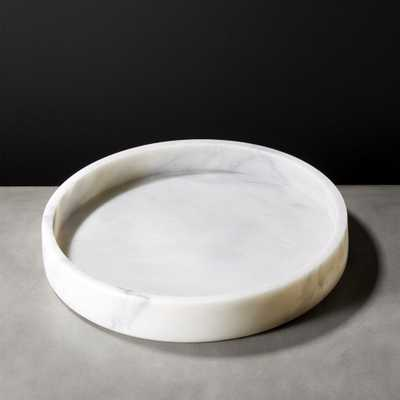 Scoop Marble Bowl - CB2