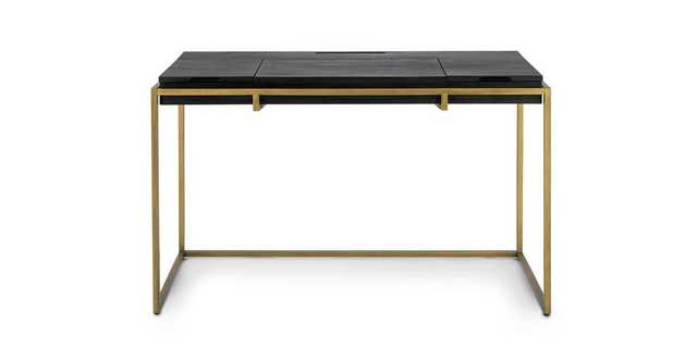 Oscuro Black Desk - Article
