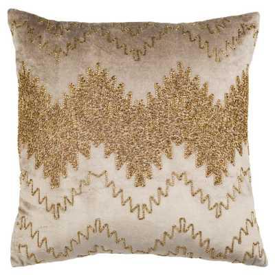 Gold Sparkle Pillow - Home Depot