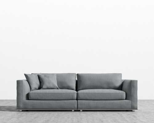 Milo Sofa - Concrete - Rove Concepts