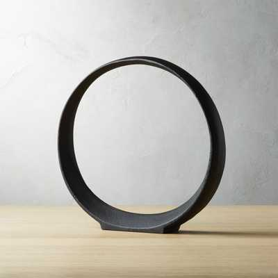 Small Metal Ring Sculpture - CB2