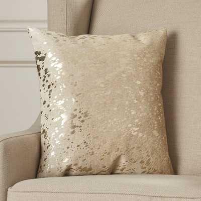 Surrey Leather Throw Pillow - AllModern