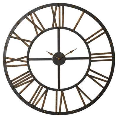 "Over-sized Garfield 28"" Wall Clock - Birch Lane"