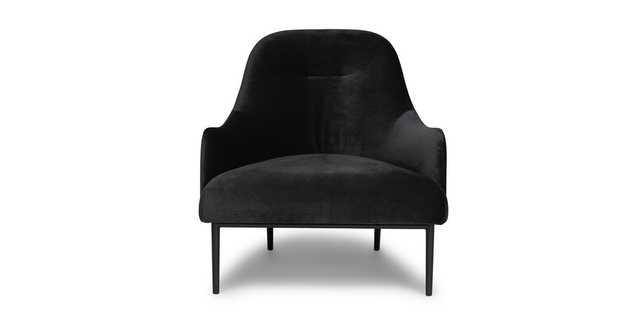 Embrace Obsidian Black  Chair - Article