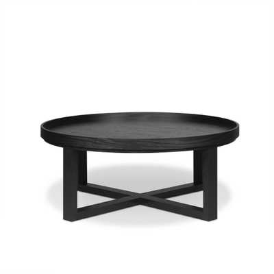 Dehkha Black Coffee Table - Home Depot