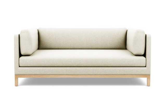 Jasper Sofa with Vanilla Fabric and Natural Oak legs - Interior Define