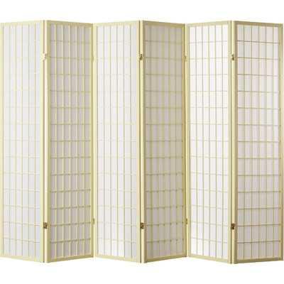 Trevor Shoji 6 Panel Room Divider - Wayfair