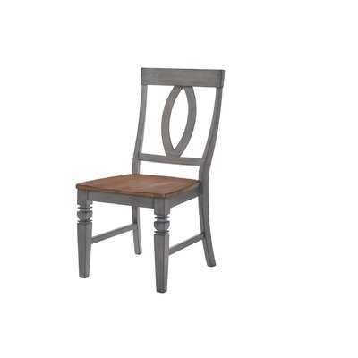 Adalgar Slat Back Dining Chair - Wayfair
