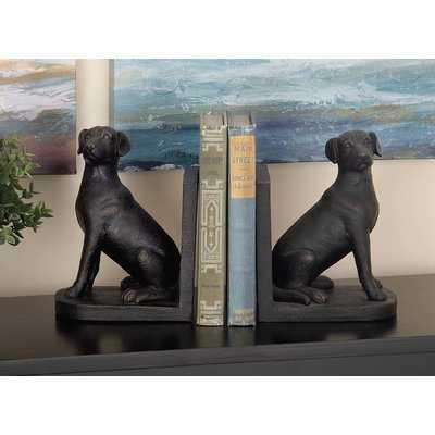 Dog Bookends - Wayfair