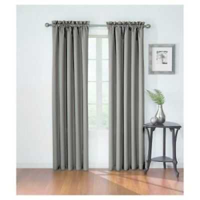 "NEW Corinne Blackout Curtain Grey (42""x95"") - Eclipse - eBay"