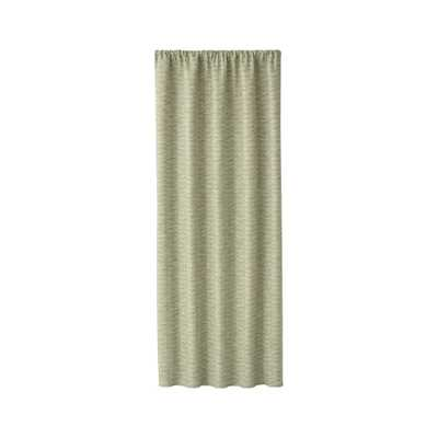 "Desmond Green Cotton Curtain Panel 50""x84"" - Crate and Barrel"