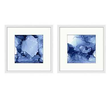 Blueline Print, Set of 2 - Pottery Barn