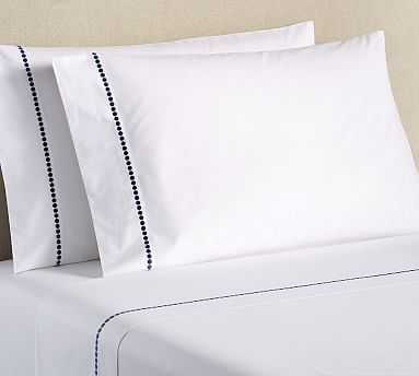 Pearl Organic Extra Pillowcases, Set of 2, Standard, Twilight - Pottery Barn