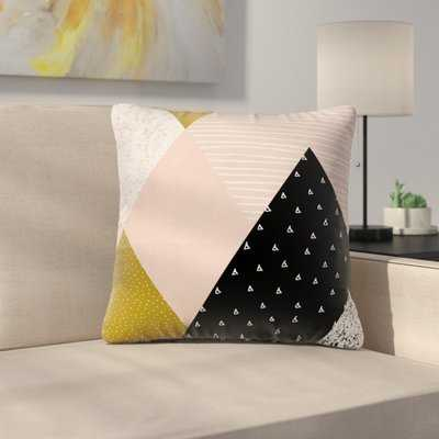 Geometric Pillow Cover with Zipper - Wayfair