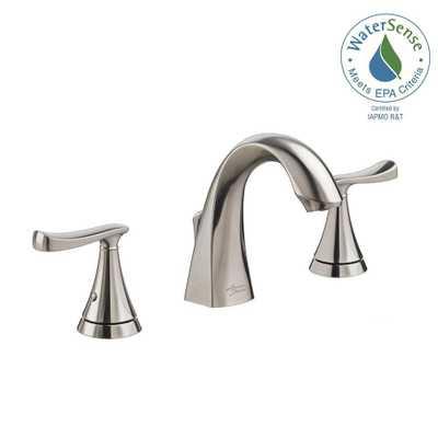 American Standard Chatfield 8 in. Widespread 2-Handle Bathroom Faucet in Brushed Nickel - Home Depot