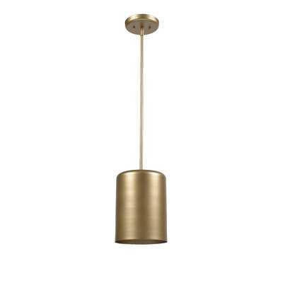 Clancy 1-Light Single Cylinder Pendant - AllModern