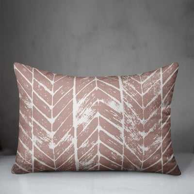 Skyline Distressed Chevron Lumbar Pillow - Wayfair