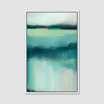 "Minted for west elm, Blue Lagoon, 20""x30"" - West Elm"