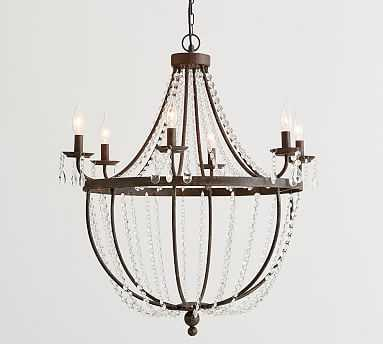 Quinn Chandelier, Bronze - Pottery Barn