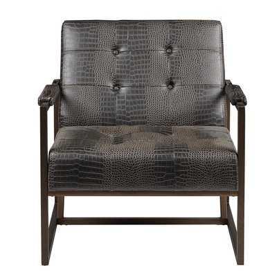 Cateline Faux Leather Armchair - Wayfair