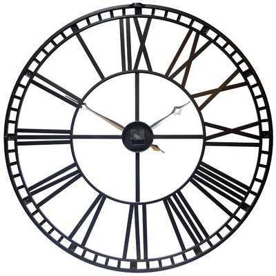 "Oversized Methuen 39"" Wall Clock - AllModern"