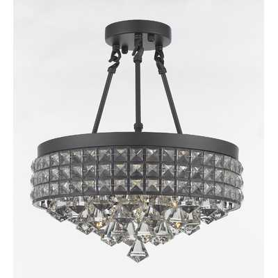 Adriana 4-Light Crystal Chandelier - Wayfair