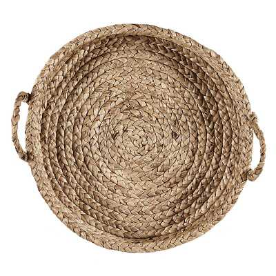 Ballard Designs Hyacinth Bleached Wall Basket - Ballard Designs