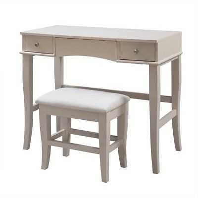 Riverbay Furniture Vanity Set in Cream Finish - eBay