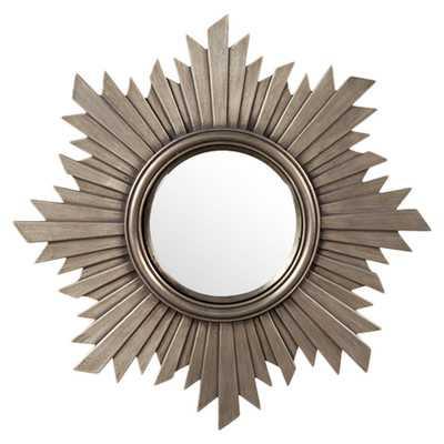 Kombucha Sunburst Gold Wall Mirror - Wayfair