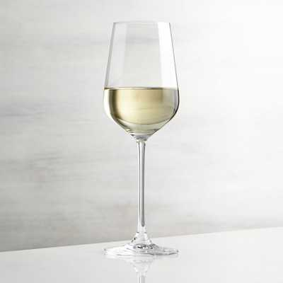 Hip White Wine Glass - Crate and Barrel
