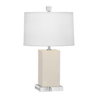 "Robert Abbey Harvey 19"" Table Lamp: Bone - eBay"