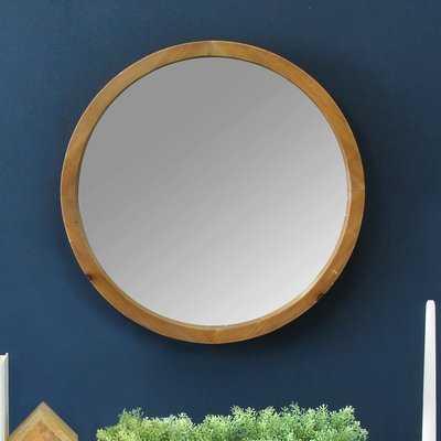 Coronado Wood Accent Mirror - Wayfair