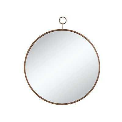Gold Round Mirror - eBay