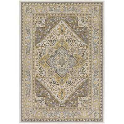 Pickerel Light Yellow/Gray Area Rug - Wayfair