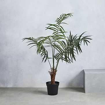Faux Fan Palm Tree - West Elm