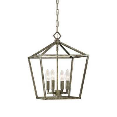 Millennium Lighting 4 Light Pendant, Antique Silver - 3234-AS - eBay