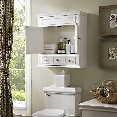 Lydia Wall Cabinet- White - eBay