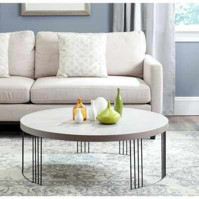Keelin Grey Coffee Table - Home Depot