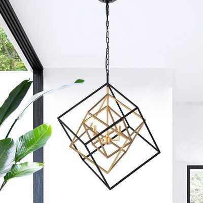 Nielsen 3-Light Geometric Chandelier - Wayfair