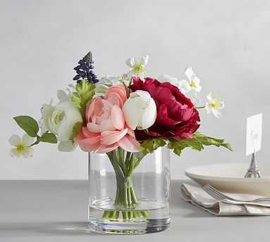 Faux Easter Composed Flower Arrangement - Pottery Barn